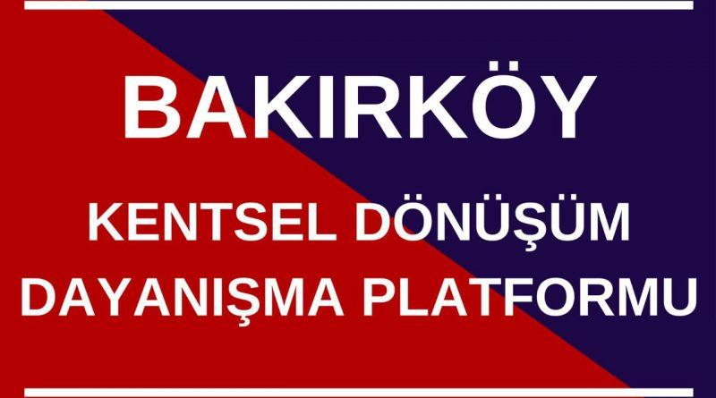 Kentsel Dönüşüm Dayanışma Platformu